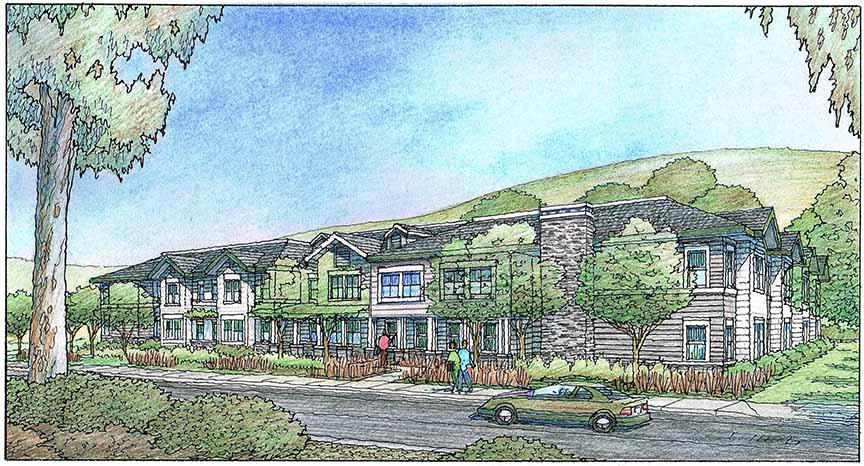 Byron Park Expansion Rendering 1