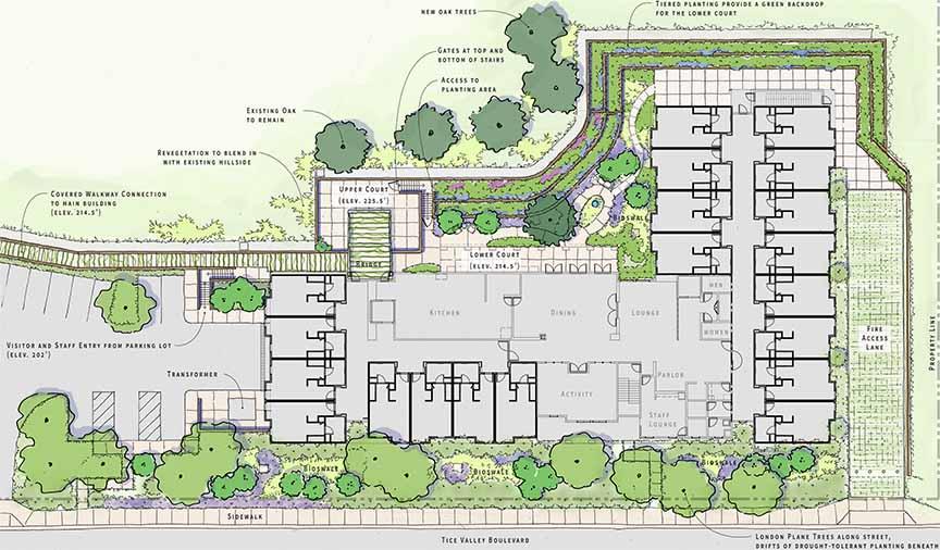 Byron Park Expansion Site Plan