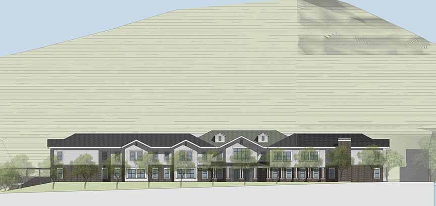 Byron Park Expansion South Elevation