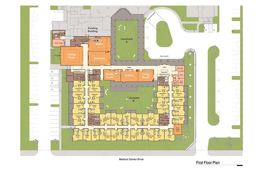 Emerald Court Expansion Site Plan