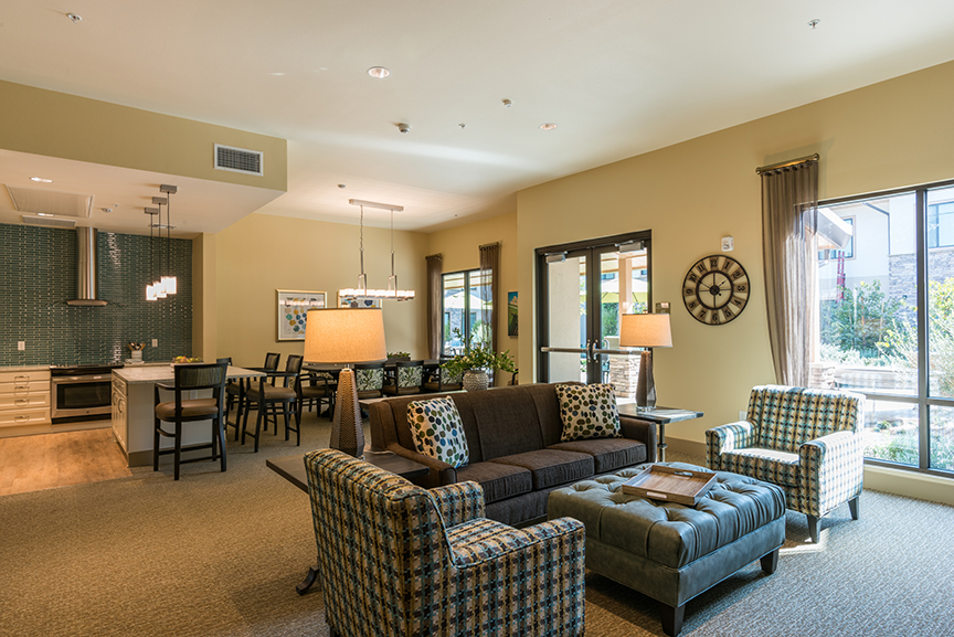 Emerald Court Expansion Family Lounge
