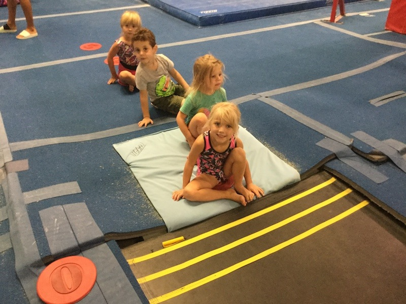 Little Stars - Ages 3½ to 5 – 45 minutesYoung children begin to work with the instructor. With the aid of specially designed floor beams, ladders and trampolines, your child will develop strength and coordination.