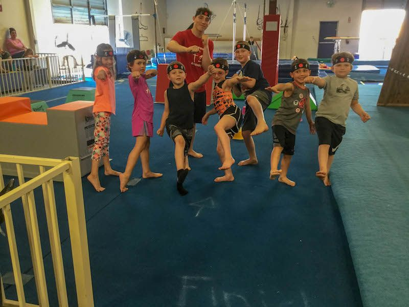 Jr. Ninja Warrior - Age 5 and up – 60 minutesLearn amazing jumps & flips, obstacle course, parkour & gymnastics!! Basic cheers, tumbling and choreography. Great start for new cheerleaders.