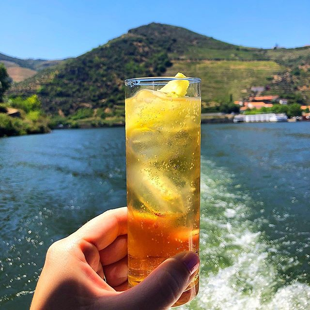 Douro River Valley. Incredible. . . . . . . #douro #dourovalley #portugal #view #travel #travelblogger #travelphotography #vacation #travelphoto #cocktail #aperitif