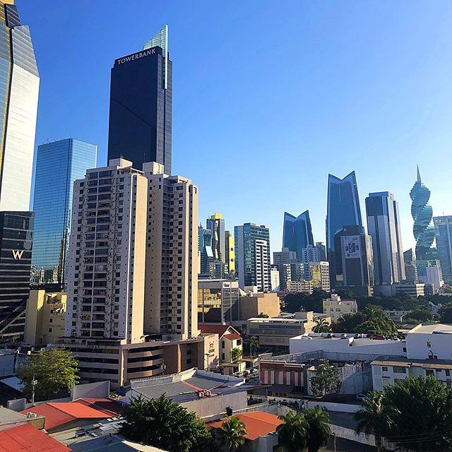 Buenos dias Panama City! @wapanama . . . . . #panama #panamacity #travel #travelblogger #vacation #travelphotography