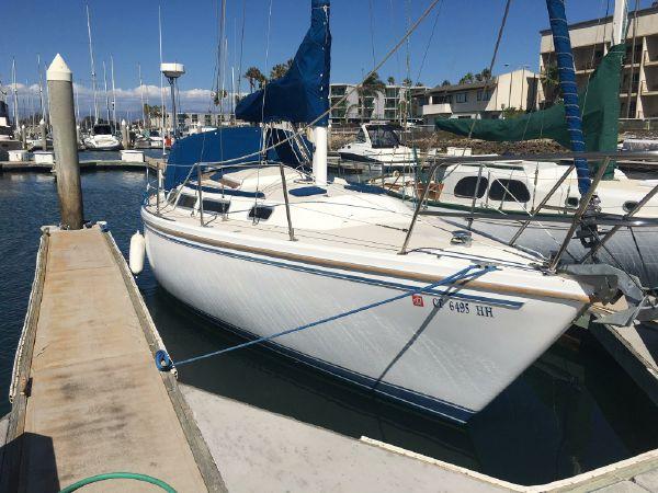 Dos Mas at the Yacht Broker's slip.