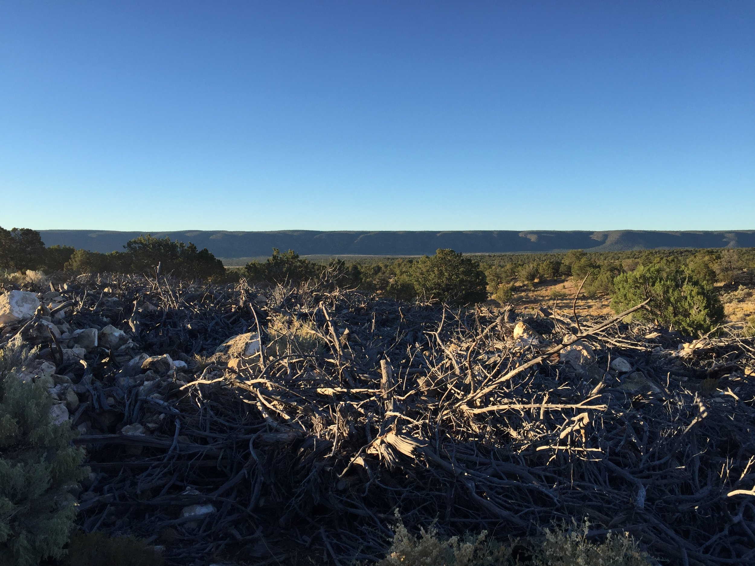 Ancient Navajo Sweat Lodges