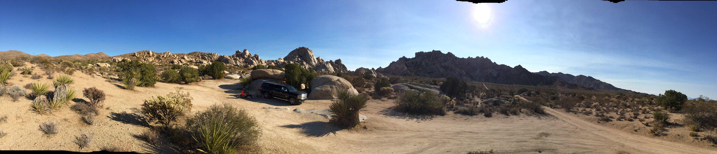 Mojave National Preserve near granite pass