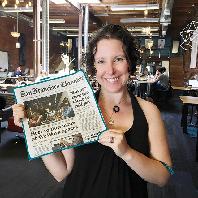 Extra! Extra! #CovoSF made it to the front page of the @sfchronicle grab a copy and read along! 📰 #Press