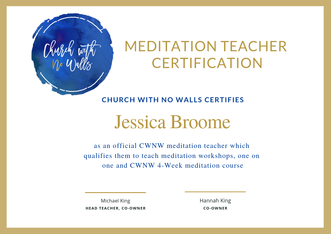 Church With No Walls - Meditation Training Certificate.png