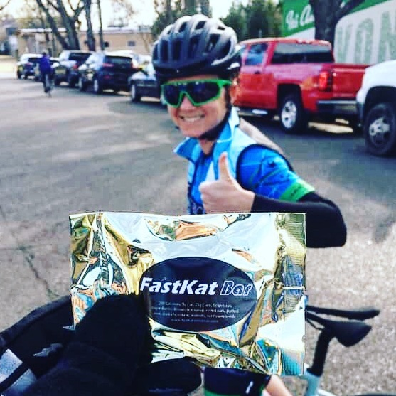 FastKat Bars are real food to fuel your ride! Just 5 ingredients, tasty, and easy to eat on the bike. Get you some  HERE!