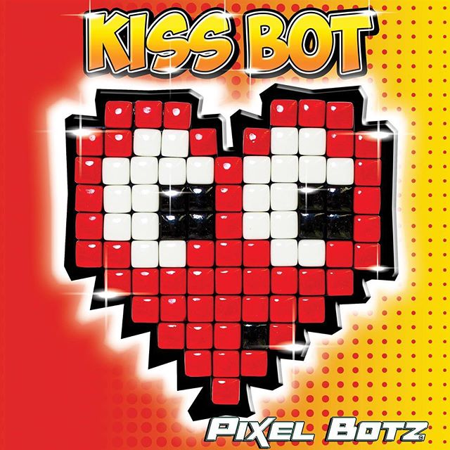 Kiss Bot can't wait for Valentines Day - it's her favourite day of the year! Make sure to grab your Love Botz for the one you love. Find them in the craft aisle at all Bunnings stores before Valentine's Day.