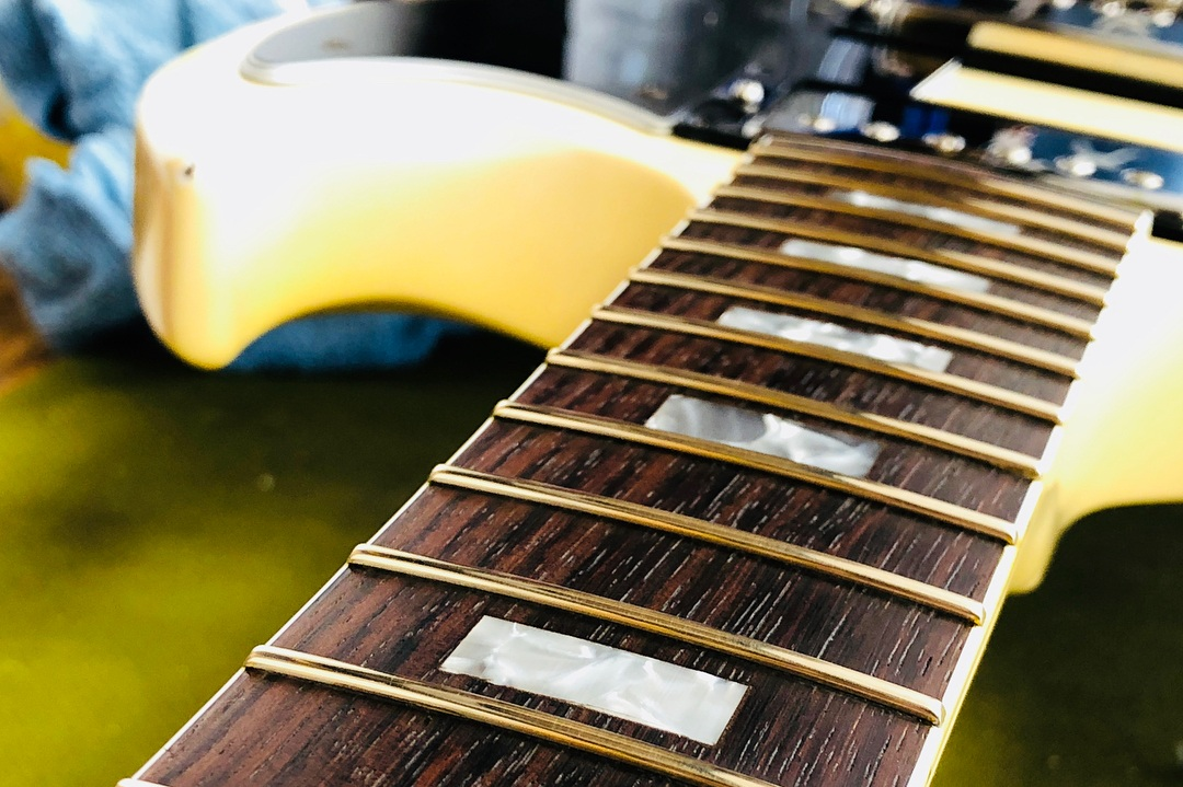 There is always amazing guitars in his shop. - Ivan A.