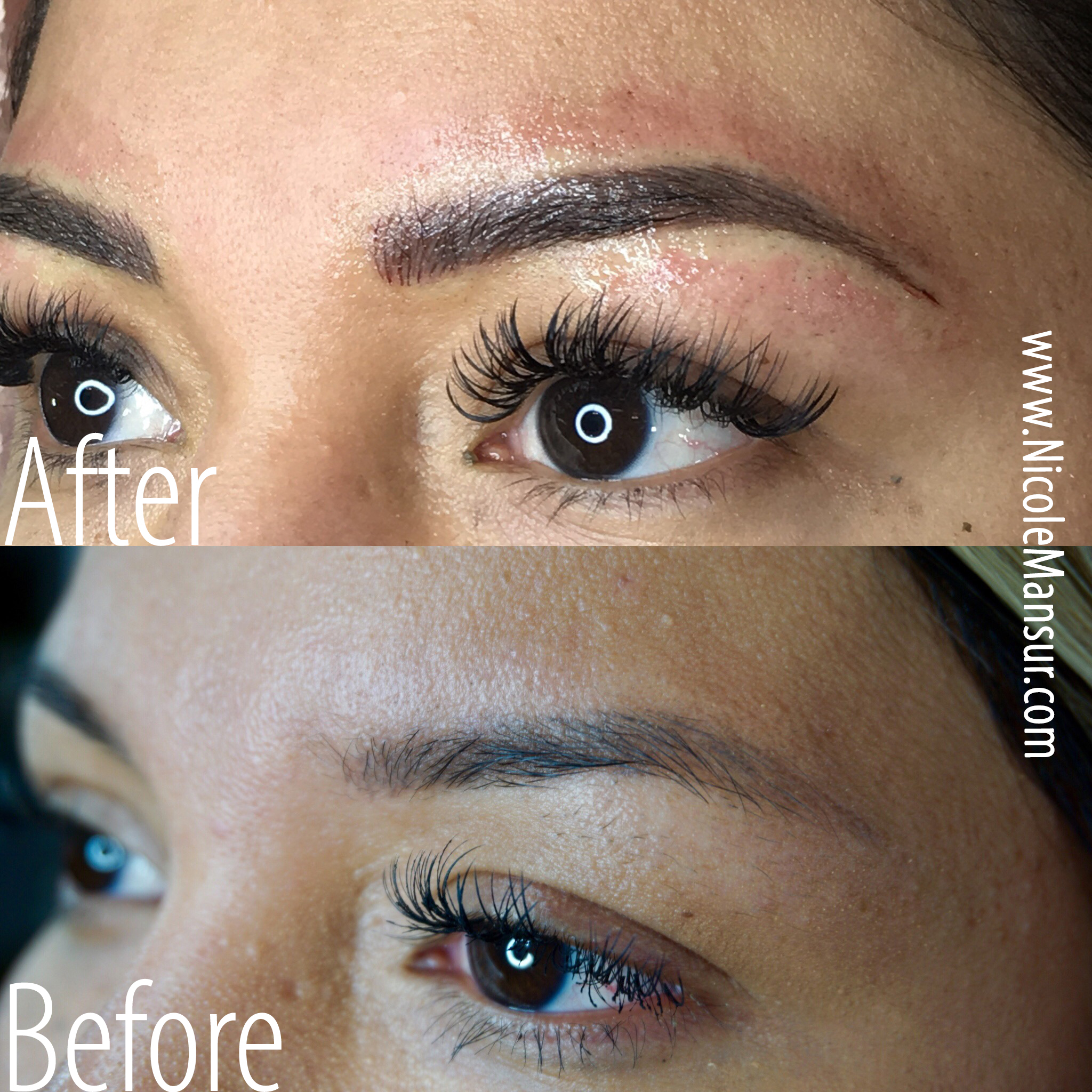 Microblading before and after Photos Eyebrows Micro Blading before and after Photos