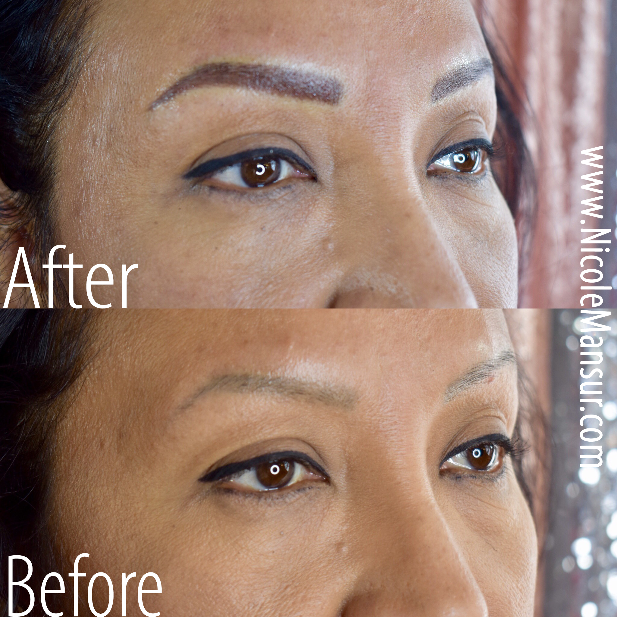 Powder Eyebrow Tattoo Permanent Makeup