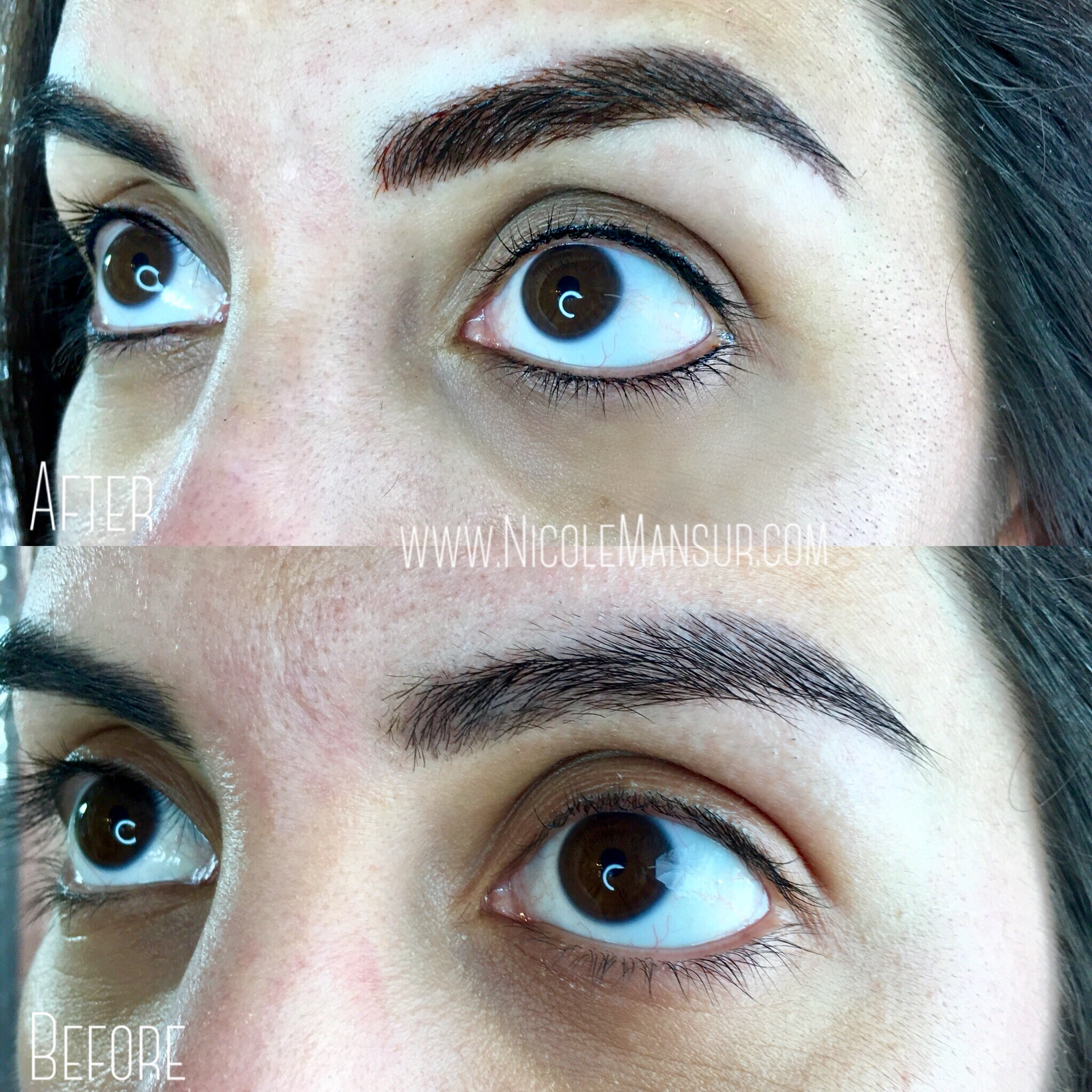 Permanent Eyeliner Permanent Makeup Nicole Mansur Artistry