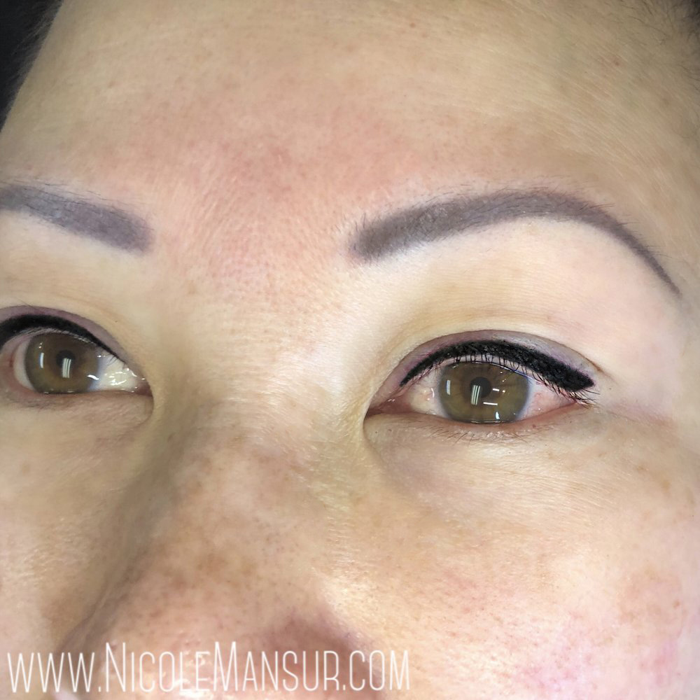 Permanent Eyeliner Lash Enhancement