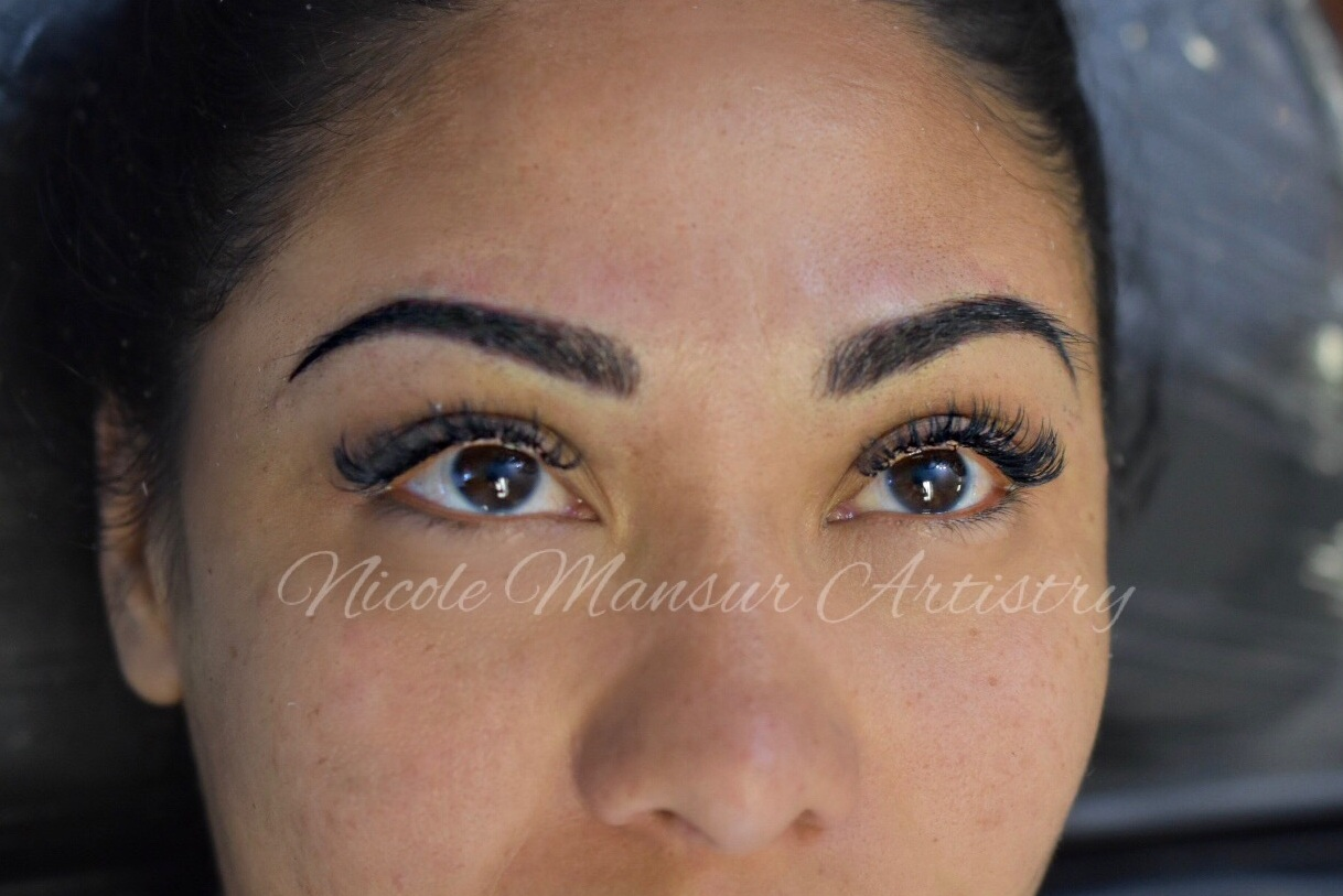 Microblading+eyebrows+permanent+makeup+permanent+eyebrows