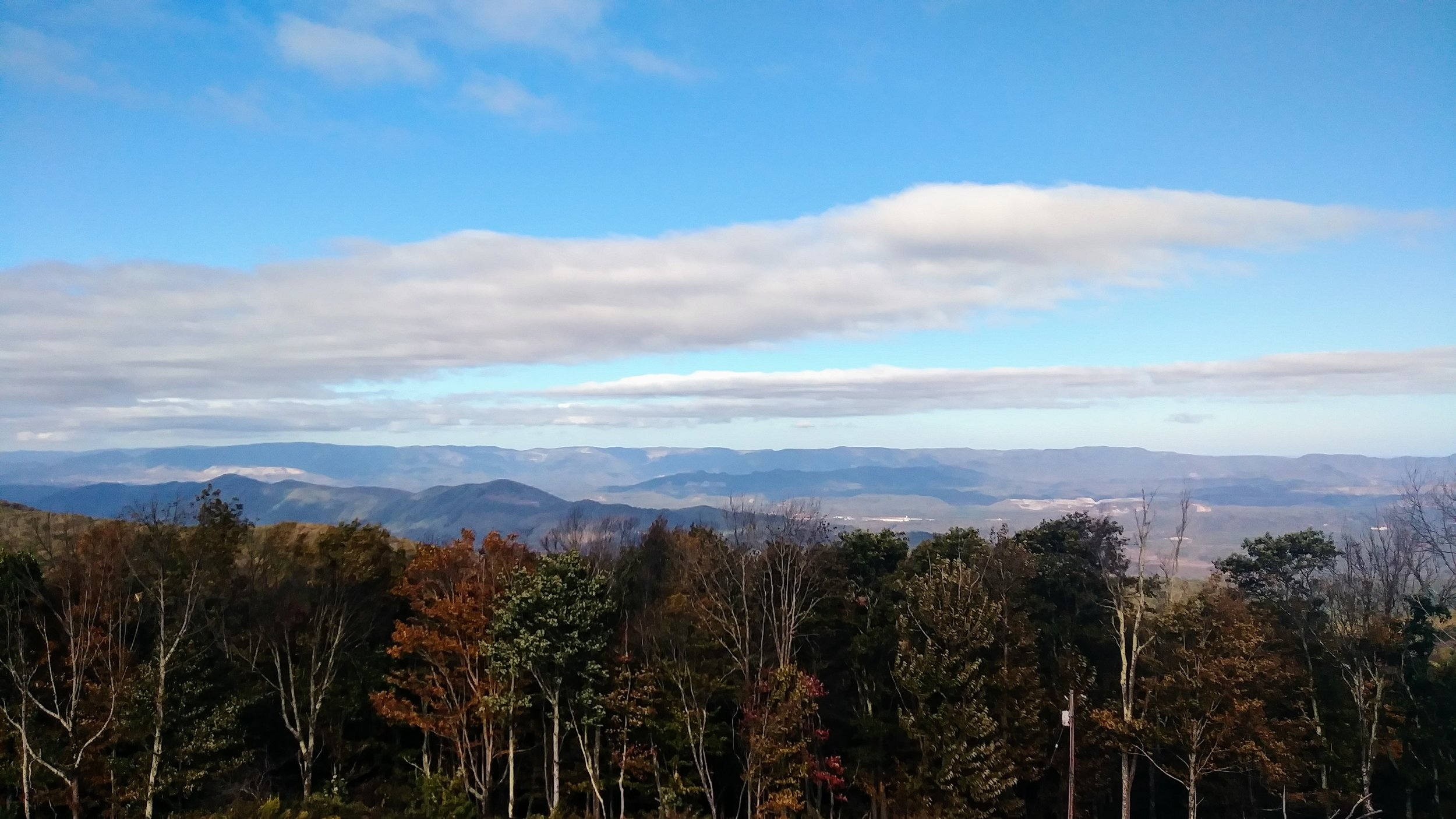 View from High Knob Observation Tower