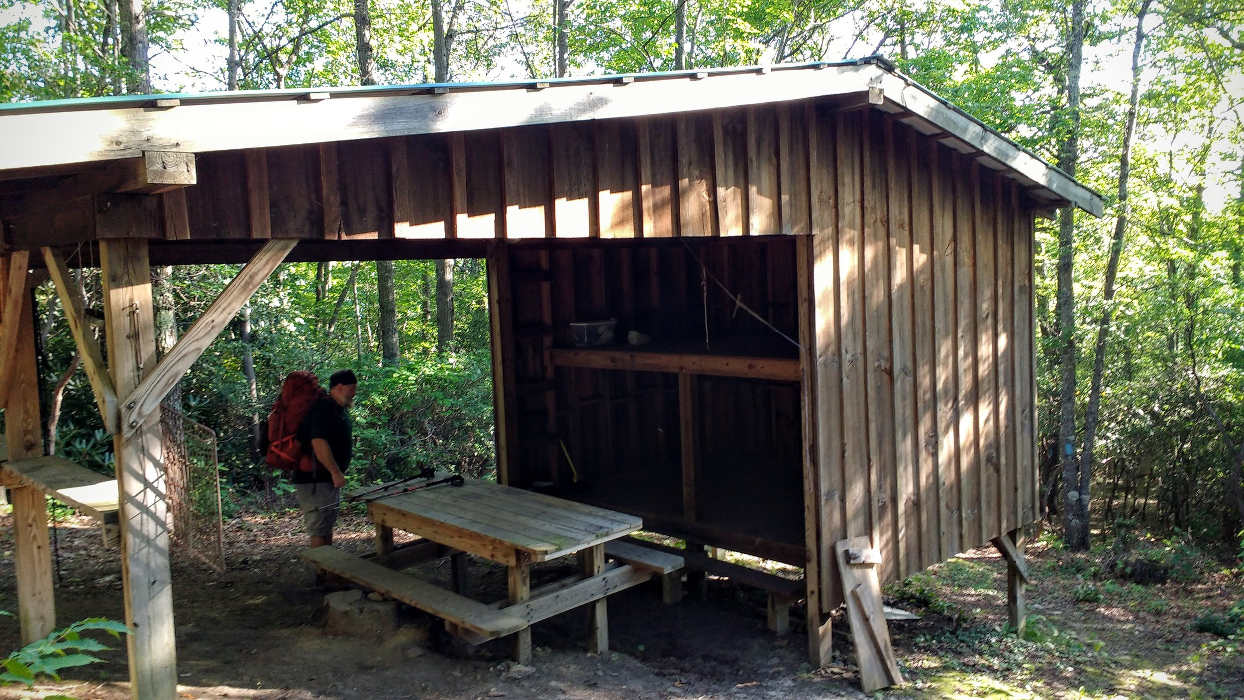 Adena Springs Shelter on Pine Mountain Trail