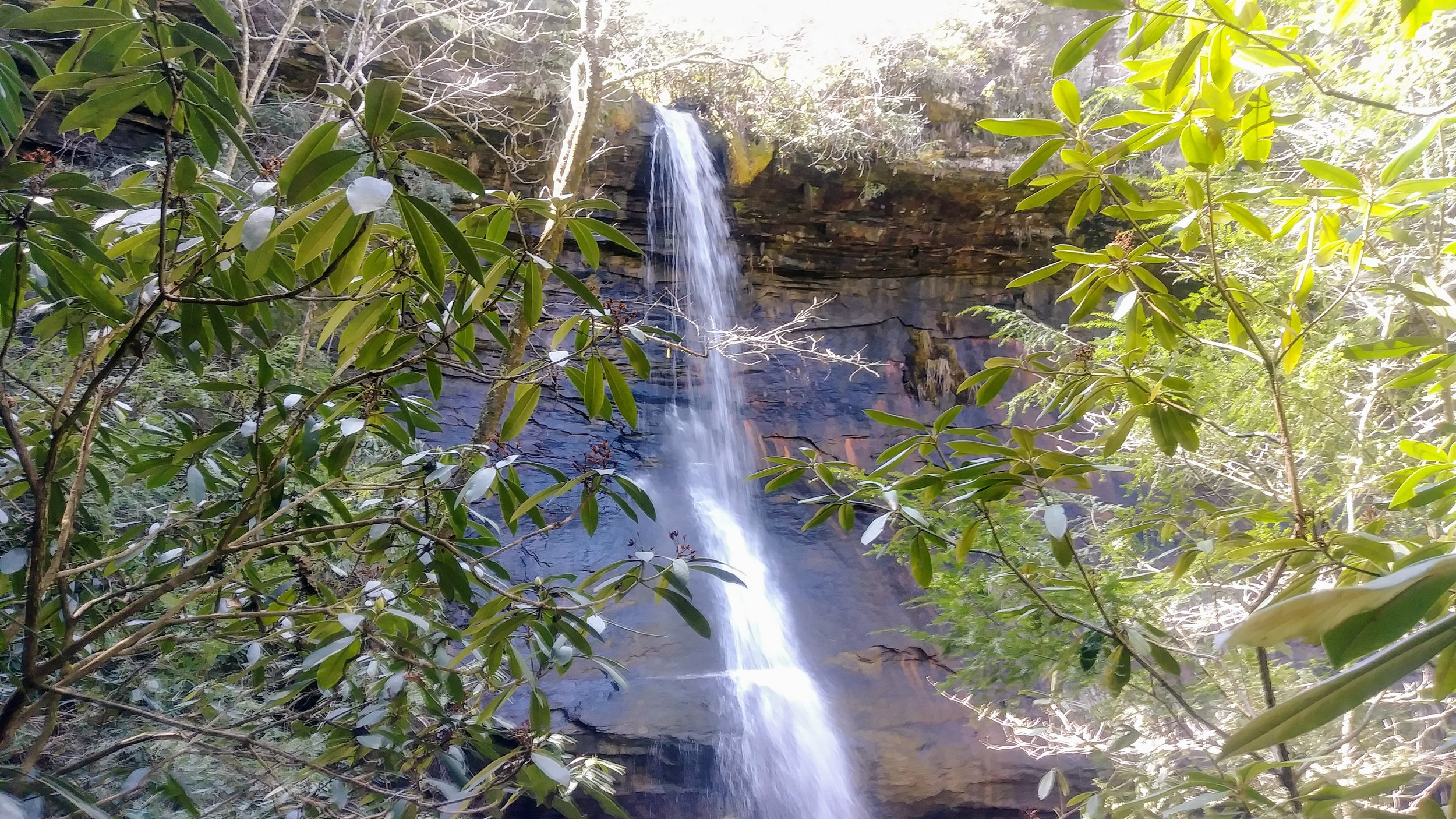 Big Spring Falls off the Kentucky Trail in Big South Fork