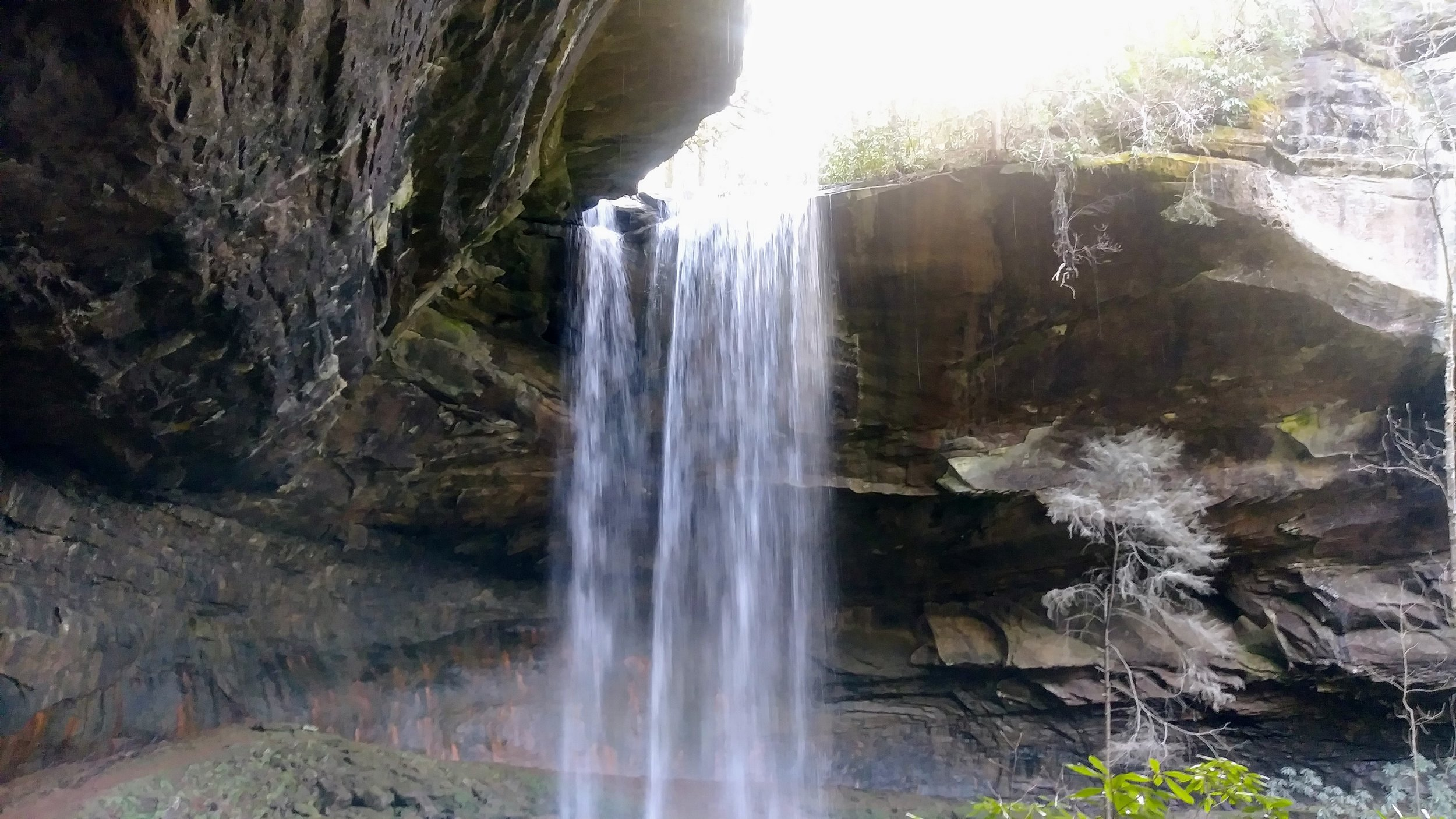 Lick Creek Falls in Big South Fork National River and Recreation Area