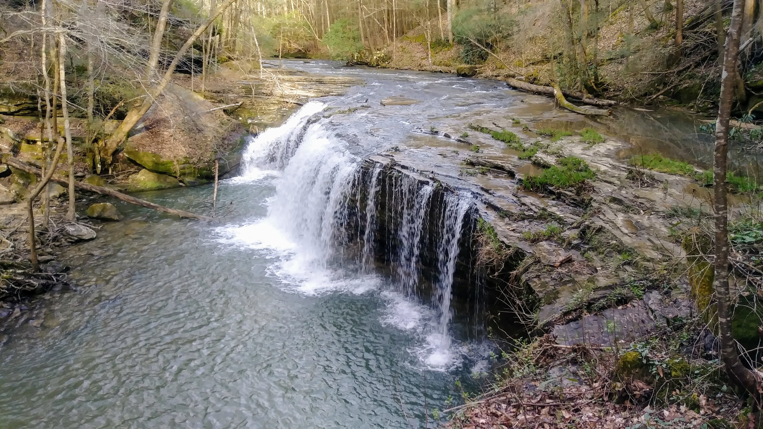 Princess Falls along Lick Creek Trail in Big South Fork National River and Recreation Area