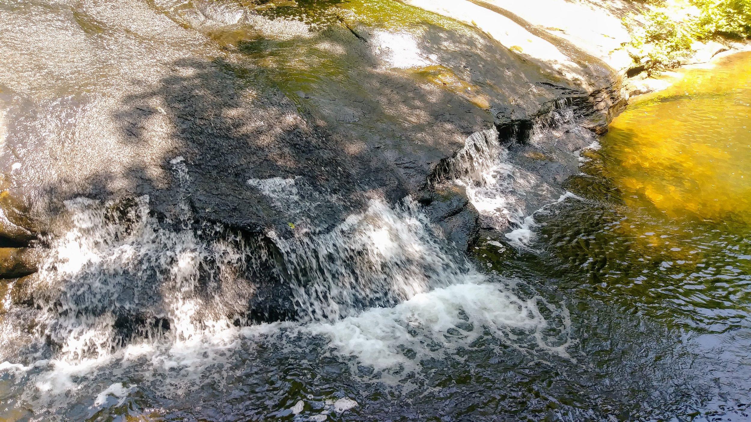 A beautiful cascade on Eagle Falls Trail Loop (Trail 9)