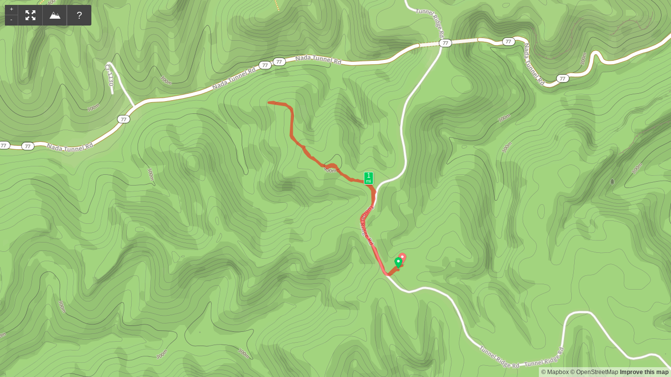 Trail Map of Pioneer Northwest
