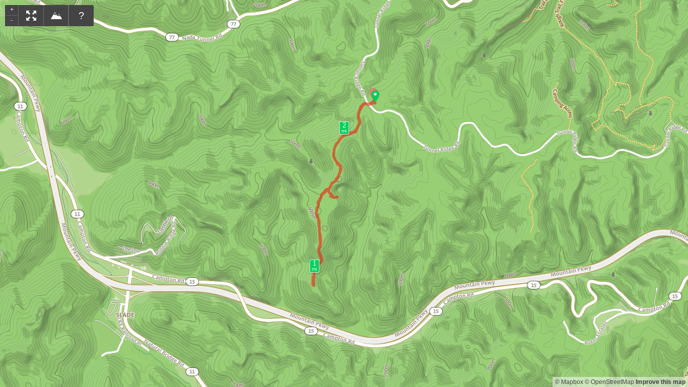 Trail Map of Pioneer South