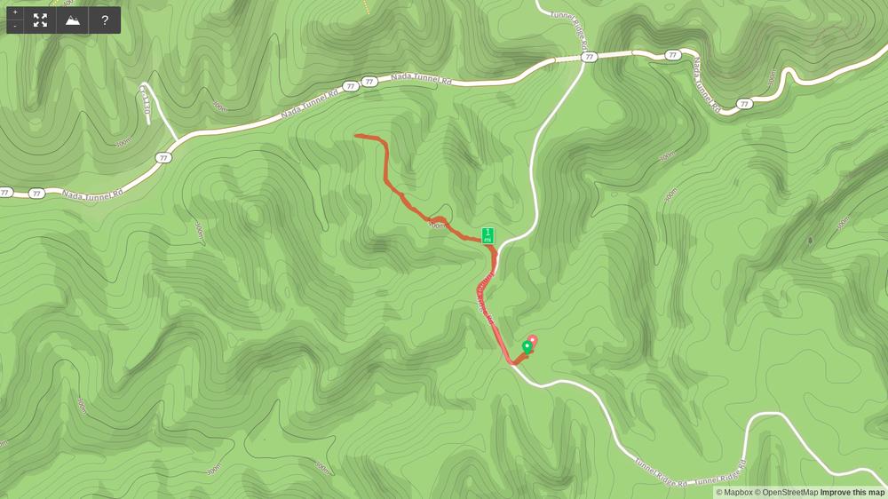 Map of Pioneer Northwest Hike