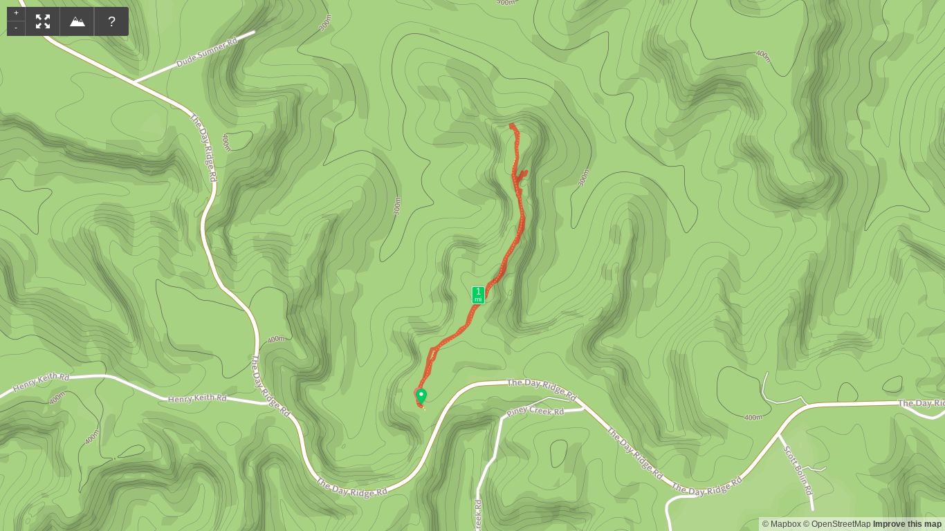 Map of Panoramic View Trail