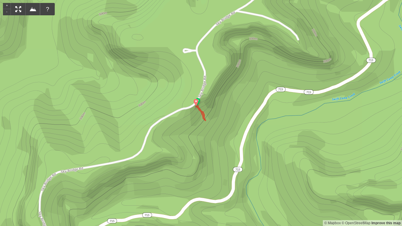 Map of Swift Camp Creek Overlook Hike.png