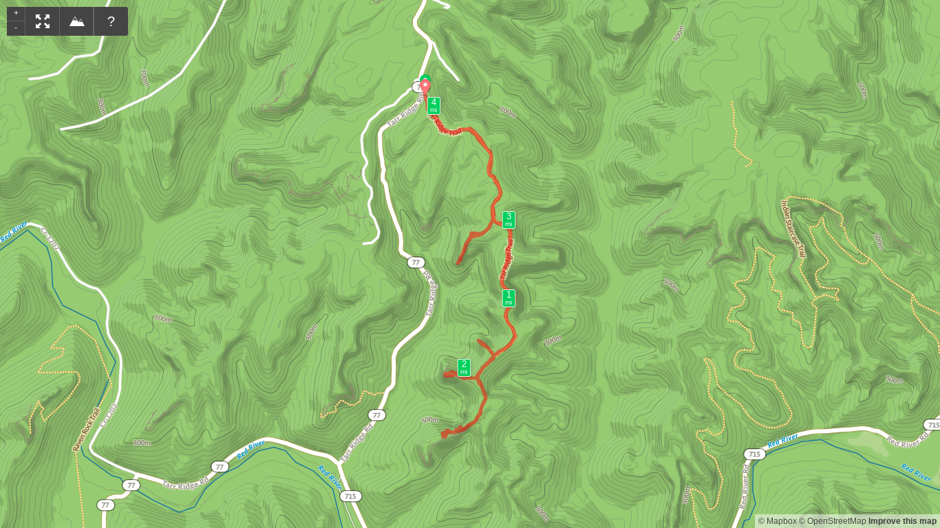 Map of Tarr Ridge Extravaganza Hike.png