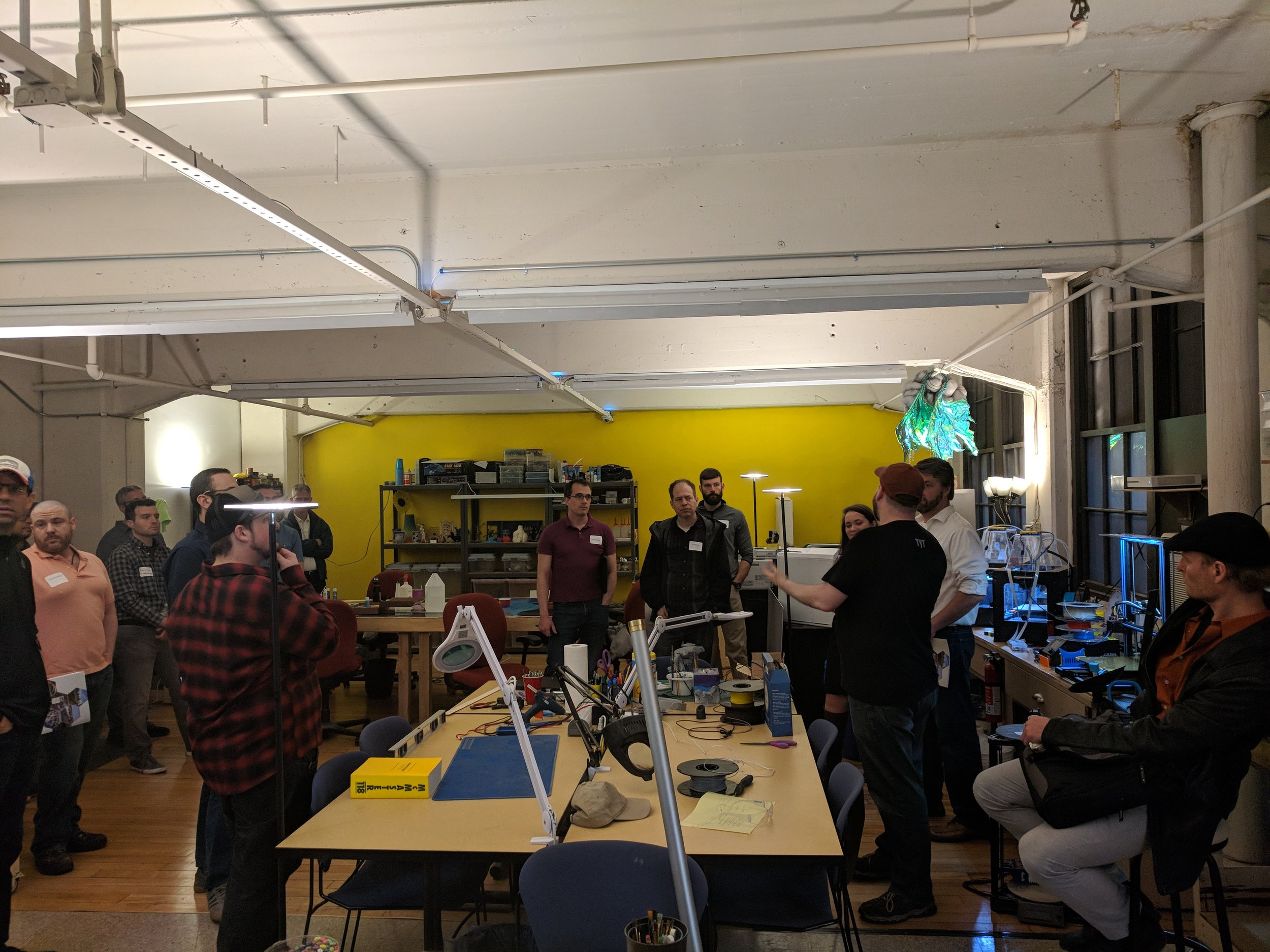 Classes & Events - Classes and Workshops covering 3D Printing, Electronics and More. We also host Group Events. We even have a weekly Board Game Night every Friday