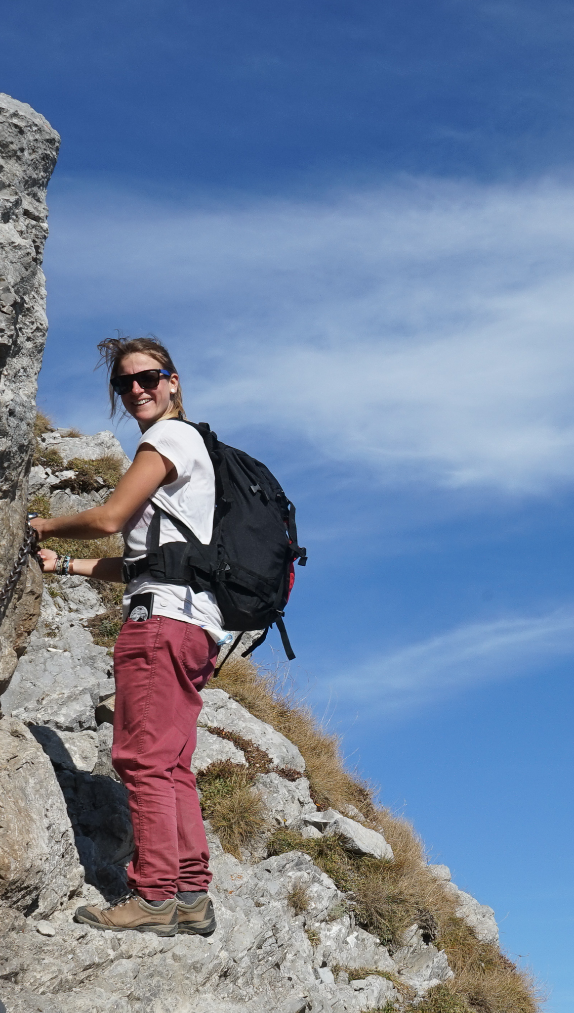 Your Guide - Hanna Kozlowska - A native of Zakopane, Hanna is at home in the Tatra Mountains but has traveled and taught mountain adventure sports in the Alps, Pyrenees, the Rockies, and the Caucasus. She is an outdoor enthusiast and loves to hike, snowboards, windsurf, and kiteboard.