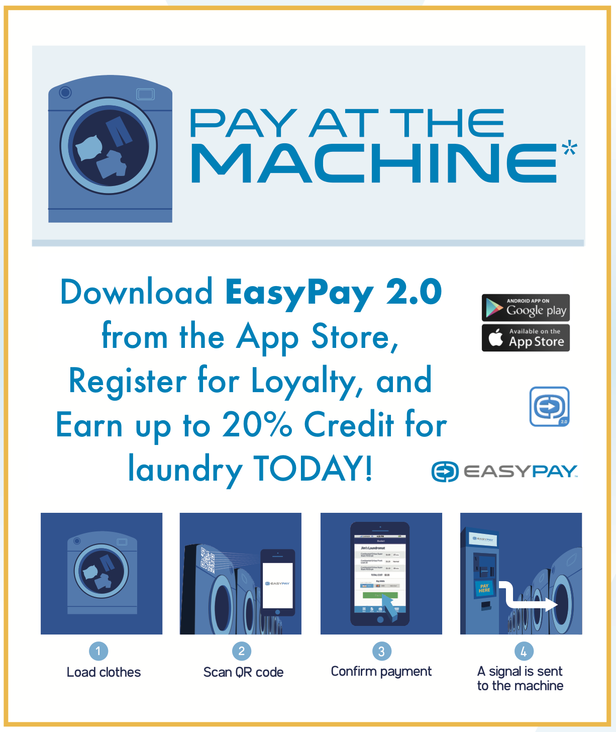 EasyPay 2.0 on your friendly App Store!