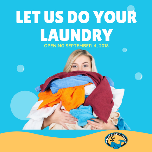 Let Us Do Your Laundry