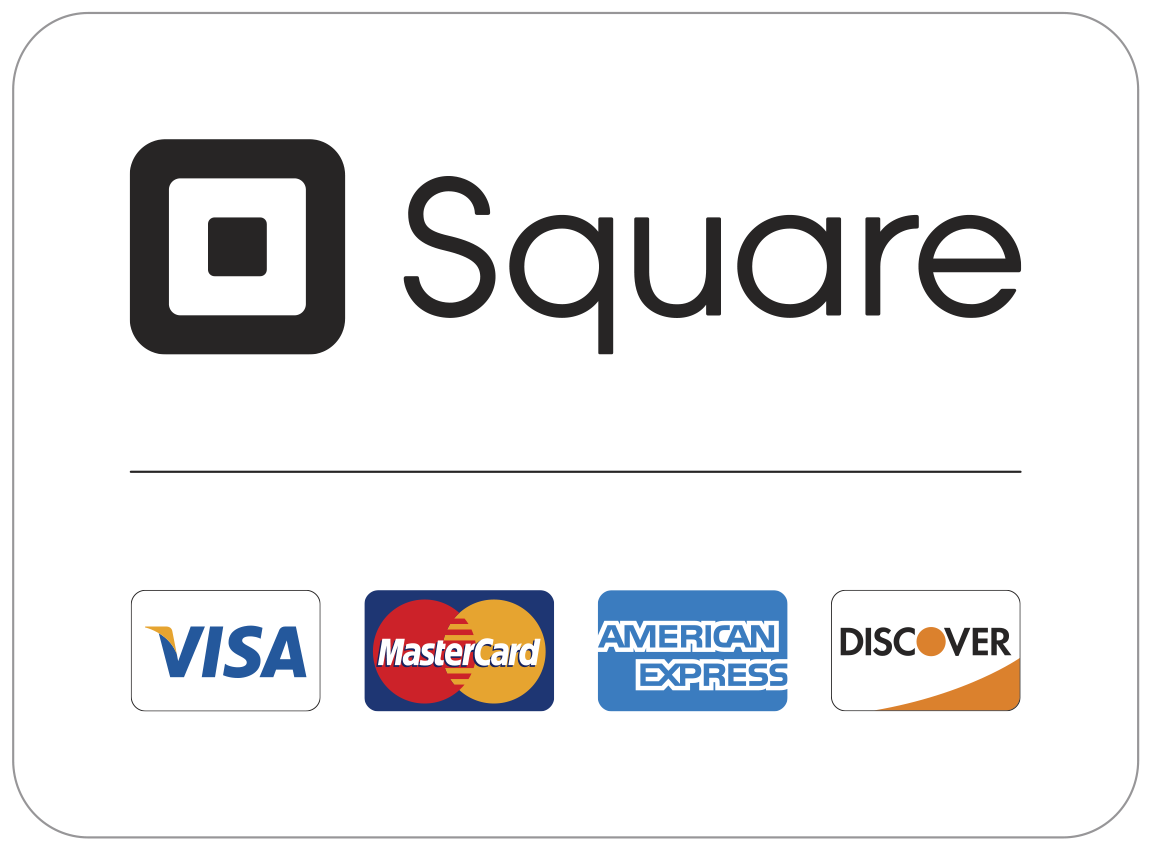 We Accept Debit or Credit Cards -