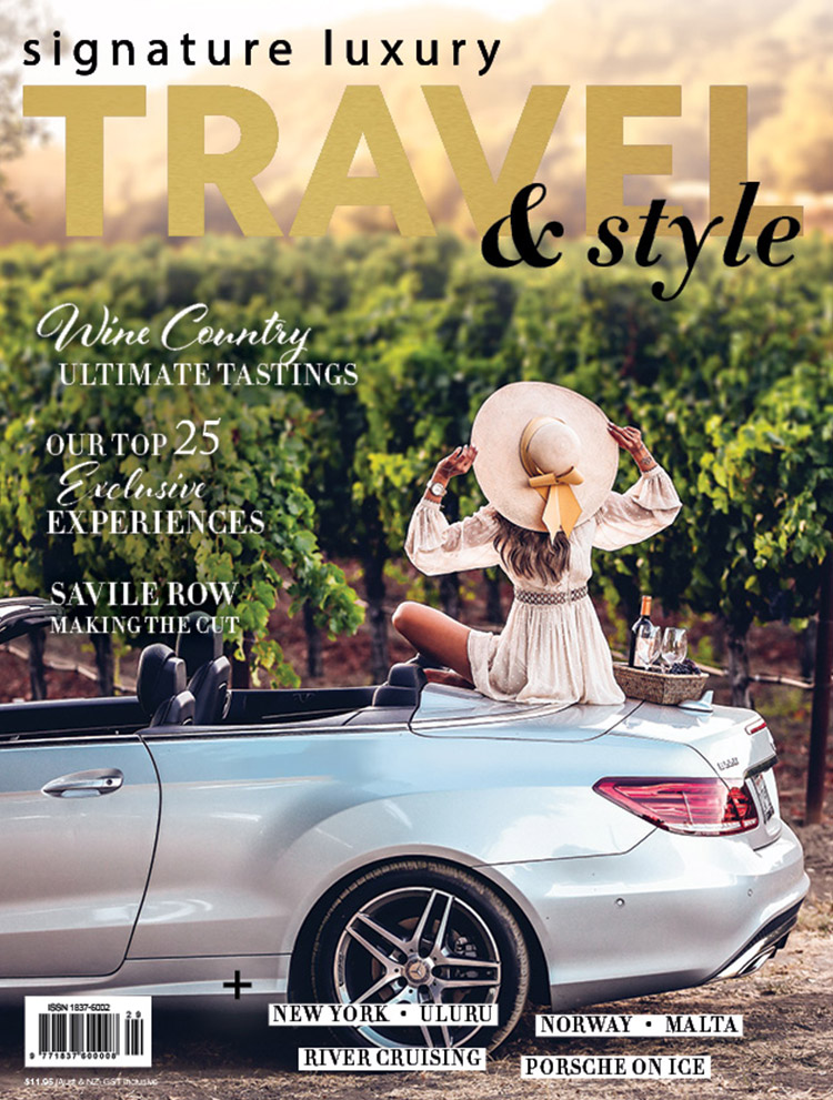 Signature Luxury Travel and Style magazine