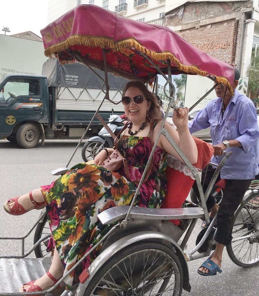 It was an Ambassador Cyclotour parade!