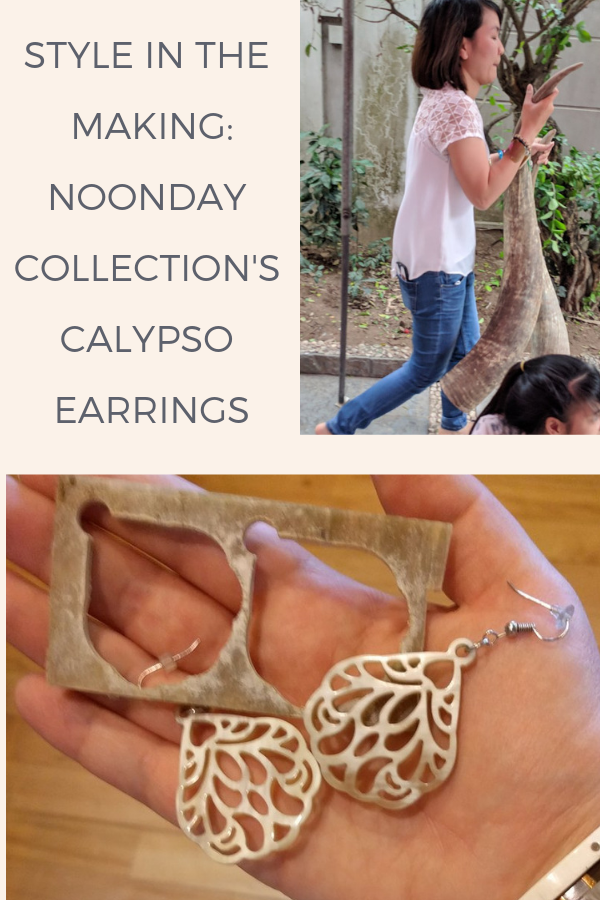 Noonday's Calypso Earrings: these airy, lightweight statement earrings are handmade in Vietnam from ethically sourced, recycled water buffalo horn. Shop the style, explore behind the scenes of their creation, and learn how fair trade is helping this 800-year-old crafting tradition continue to provide dignified jobs in Vietnam.