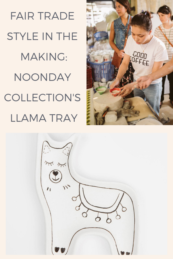 Fair trade style in the making: behind the scenes of Noonday Collection's llama tray, handmade in Vietnam