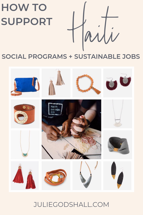 2 ways you can help Haiti during turmoil: donate to social programs, and purchase handmade products that support jobs in Haiti at Noonday Collection's business partners. #haiti #noondaystyle #noondayambassador #noondaycollection