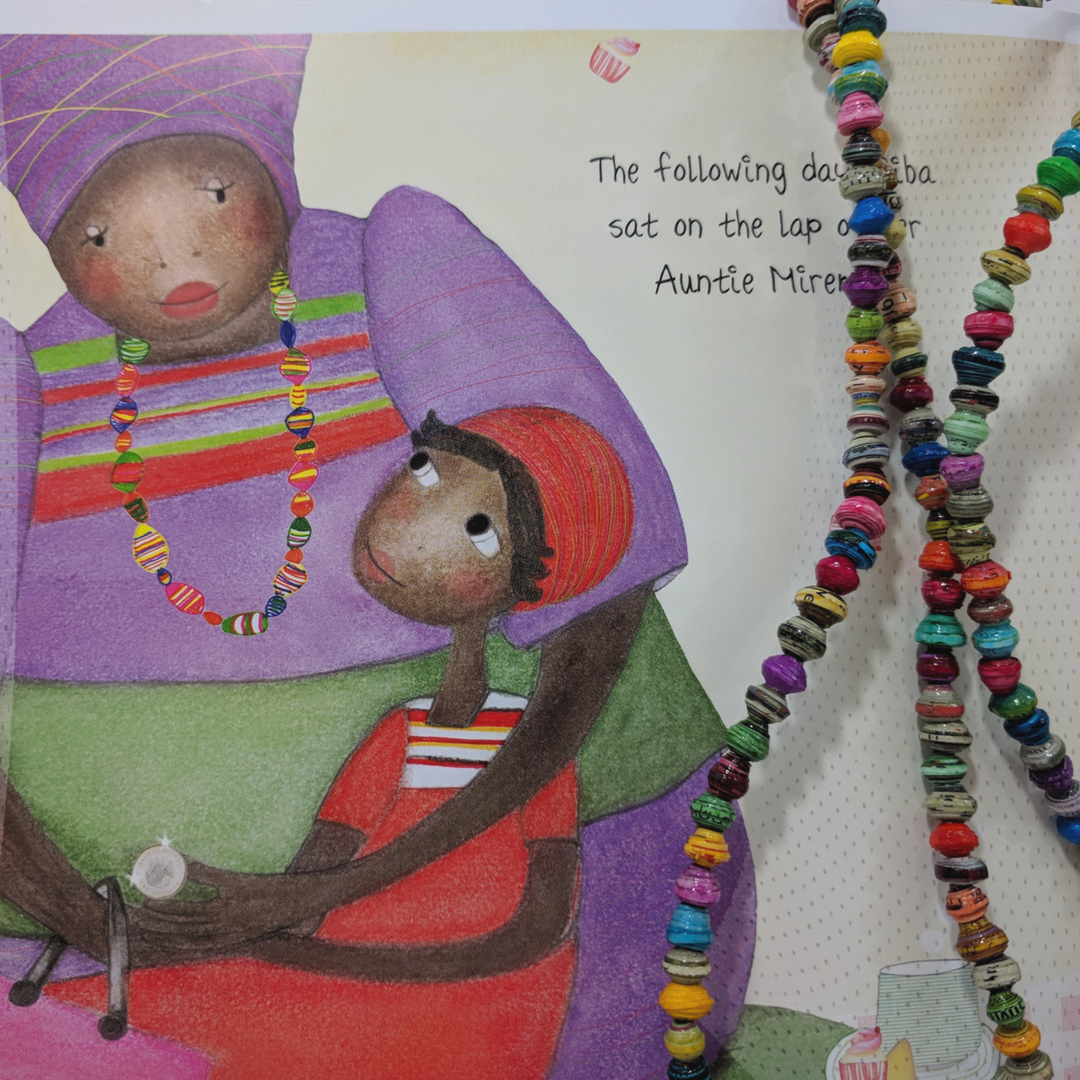 Diverse children's books that connect kids to countries around the globe, featuring Noonday Collection's partner countries. Pictured: Sleep Well, Siba and Saba by Nansubuga Isdahl and Sandra van Doorn, set in Uganda. #noondayambassador #childrenslit #kidslit #diversebooks