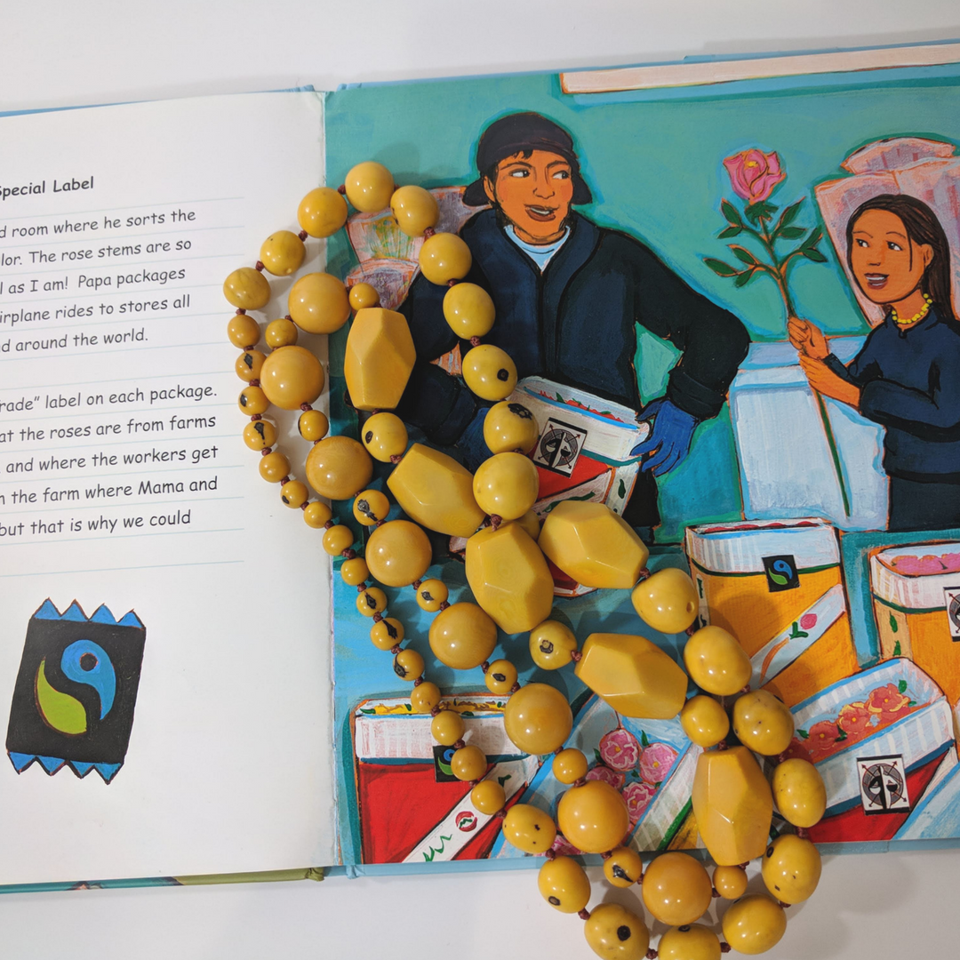 Diverse children's books that connect kids to countries around the globe, featuring Noonday Collection's partner countries. Pictured: Roses for Isabella, set in Ecuador. #noondayambassador #childrenslit #kidslit #diversebooks