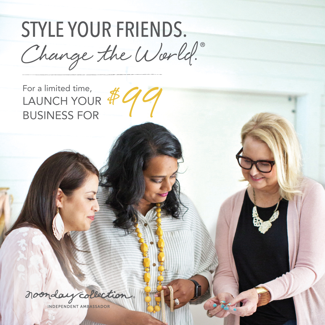 How to join Noonday Collection as an Ambassador for just $99 with coaching leader Julie Godshall