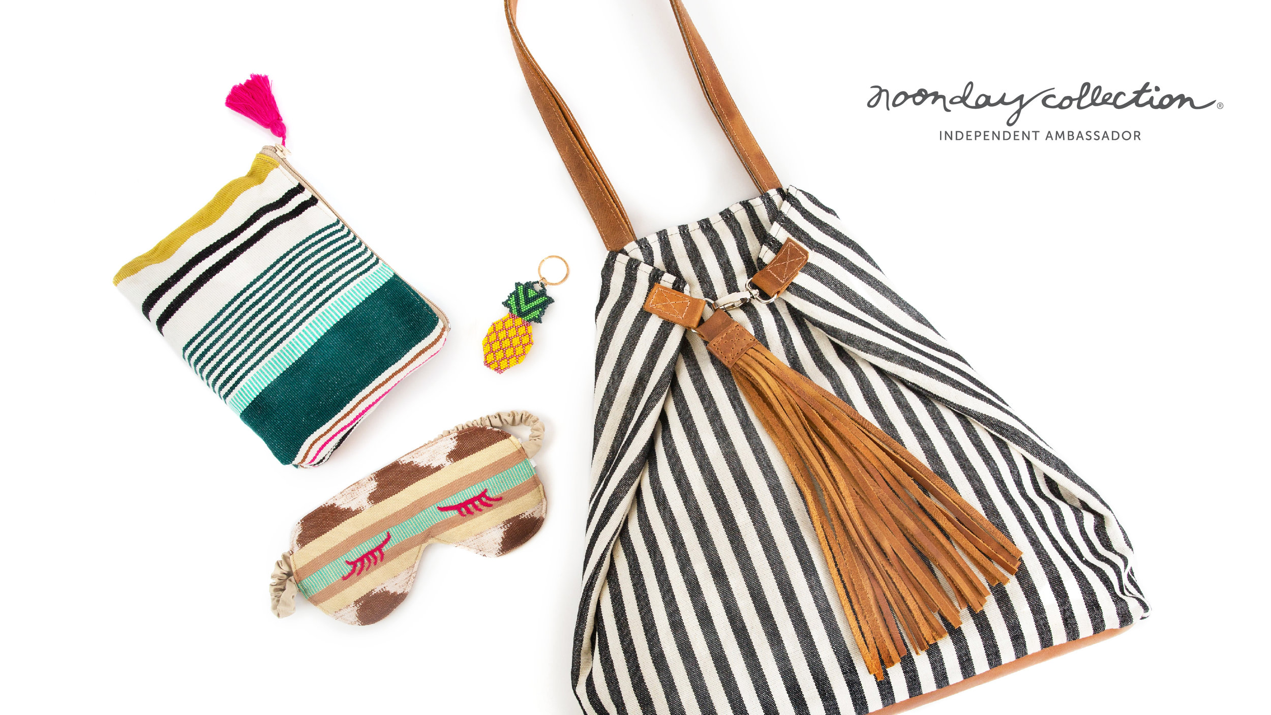 Noonday Collection's summer travel capsule - fair trade style made with love
