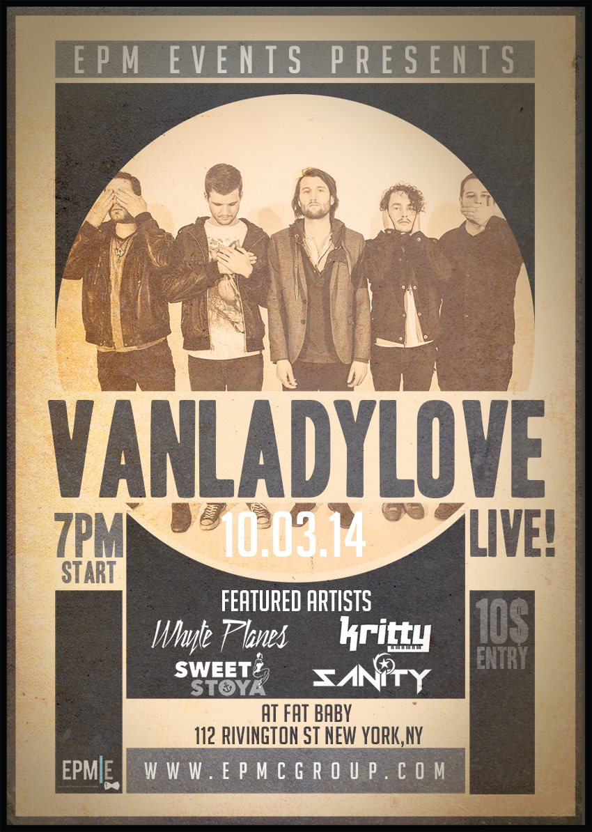Vanladylove Live  Fat Baby 10.3.14