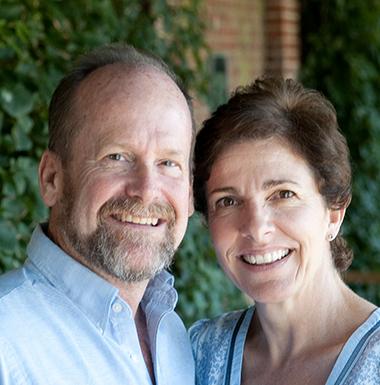 Tom & Judy Harvey   England
